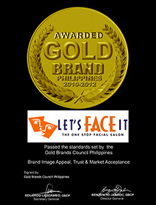 LFI Award Gold Brand